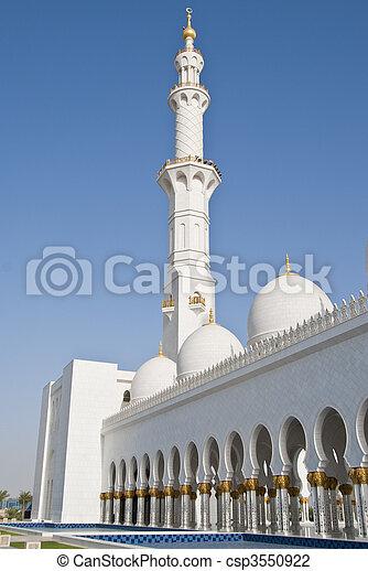 Mosque minaret - csp3550922