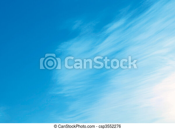 Tranquil skies - csp3552276