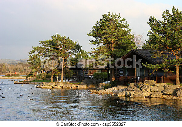 lakeside chalets - csp3552327