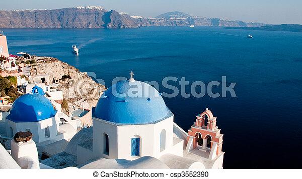 Greek Church - csp3552390