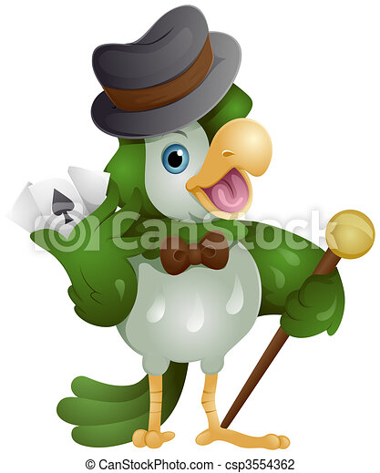 Bird Gambler - csp3554362