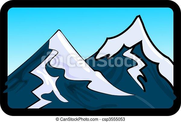 dessins de montagne illustration de les falaises de monter csp3555053 recherchez. Black Bedroom Furniture Sets. Home Design Ideas