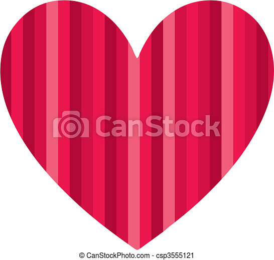 heart Vector Illustration - csp3555121