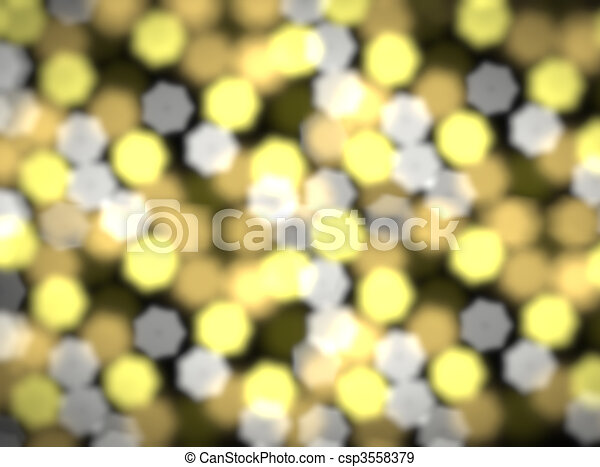 Beautiful celebratory background with coloured bokeh - csp3558379
