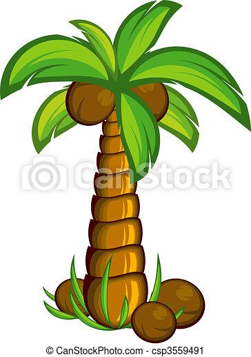 Palm tree - csp3559491