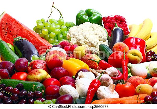 Fresh Vegetables, Fruits - csp3560677
