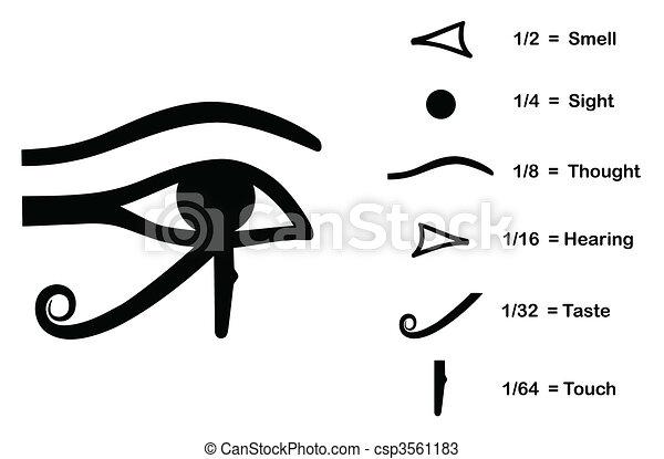 The Eye of Horus - csp3561183