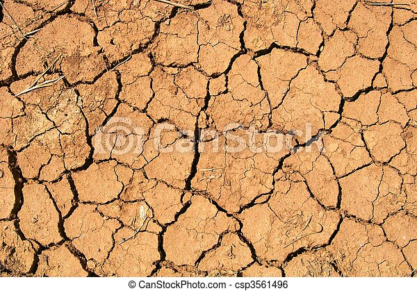 Parched Background - csp3561496
