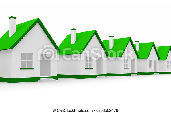 Real estate concept - csp3562476