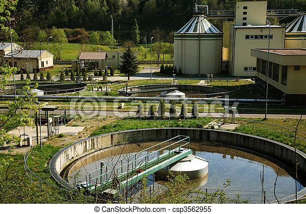 Waste water treatment - csp3562955