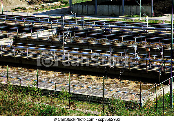 Waste water treatment - csp3562962