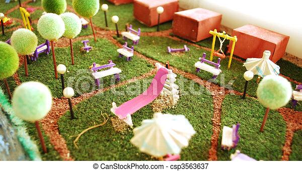 Miniatuur tuin intratuin