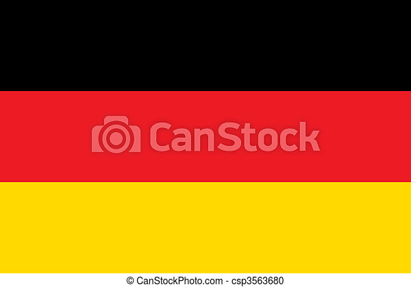 National Flag Germany - csp3563680