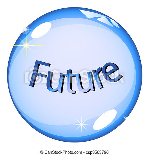 Stock Illustration of Crystal Ball Future csp3563798 - Search EPS ...
