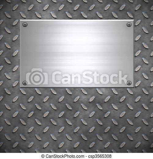 old metal background texture - csp3565308