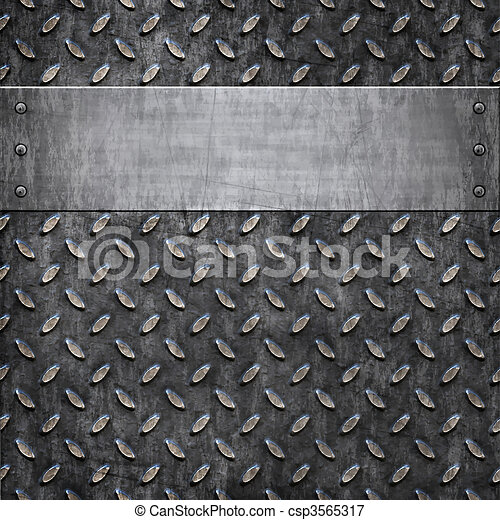 old metal background texture - csp3565317