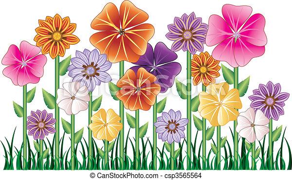 Flower Garden - csp3565564