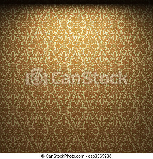 illuminated fabric wallpaper  - csp3565938