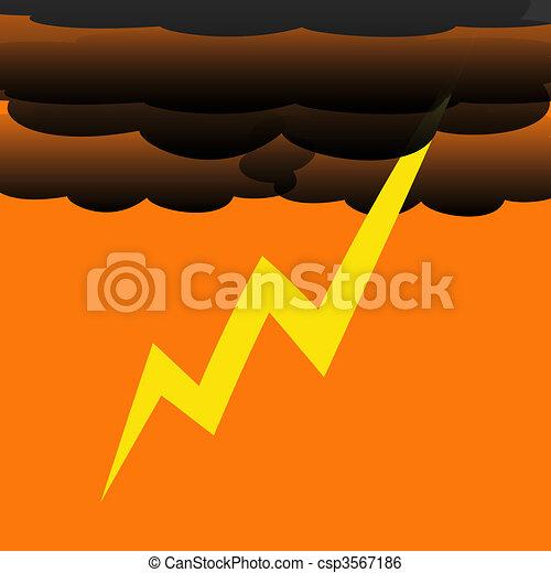 thunder bolt - csp3567186