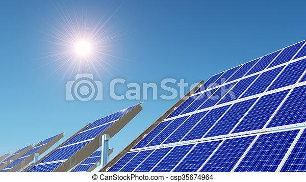 Solar power station - csp35674964