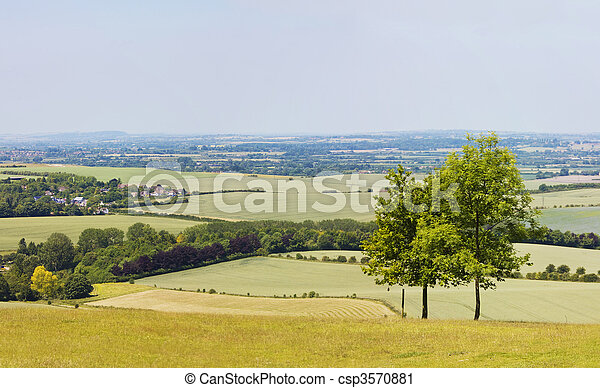 english countryside - csp3570881