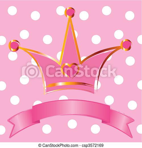 Princess crown - csp3572169
