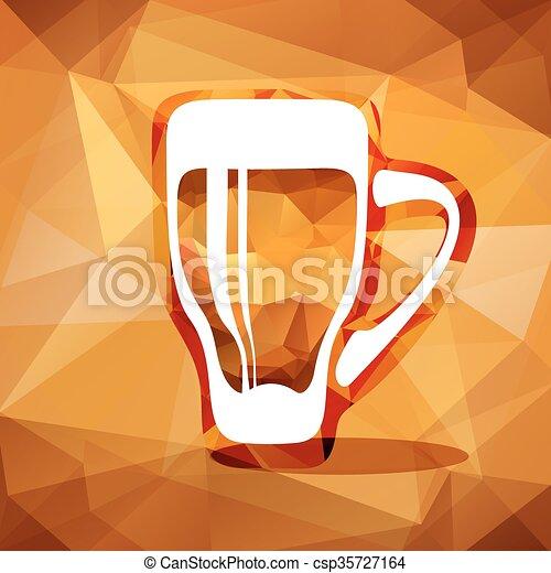 beer glass - csp35727164