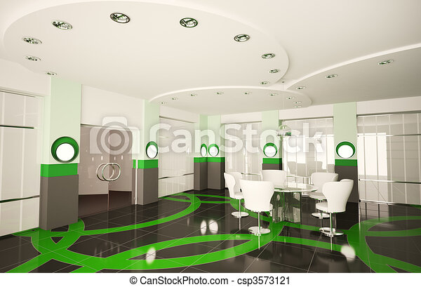 Clipart Of Modern Boardroom 3d Modern Boardroom With