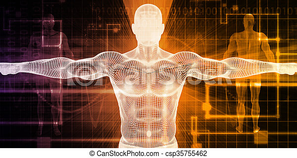 Medical Body Technology - csp35755462