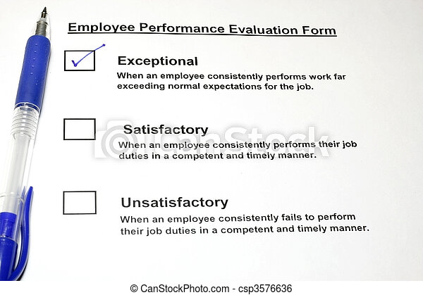 Employee Performance Evaluation - csp3576636