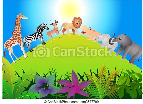 Wild animal - csp3577799