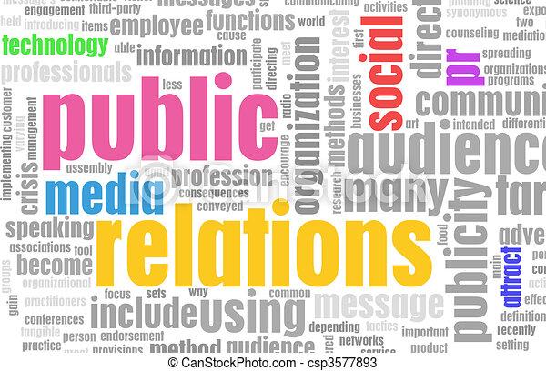 Public Relations - csp3577893