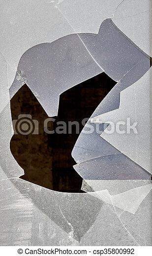 broken window - csp35800992