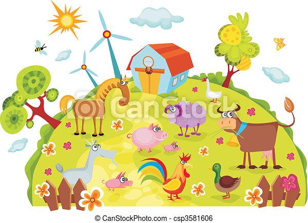 farm - csp3581606