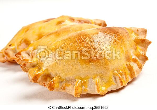 Delicious empanada - csp3581692