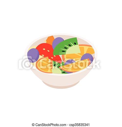 Fruit salad Clip Art Vector Graphics. 6,146 Fruit salad EPS ...