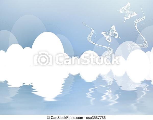 Fantasy Sky - csp3587786