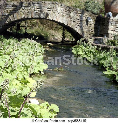 Rock bridge - csp3588415