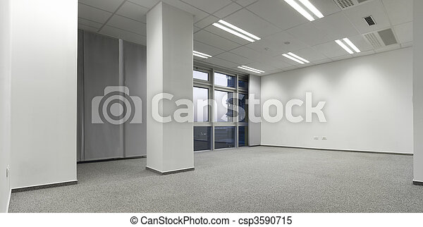 Empty office - csp3590715