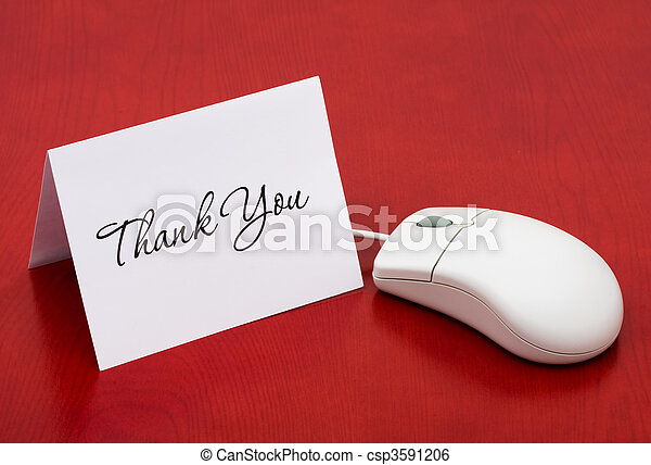 Thank You for your online purchase - csp3591206