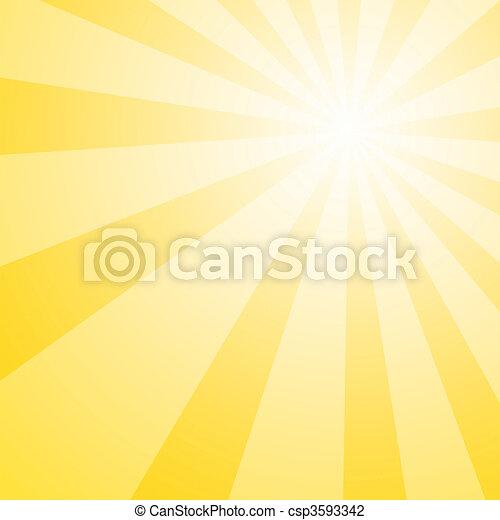 Sun Shine Burst - csp3593342