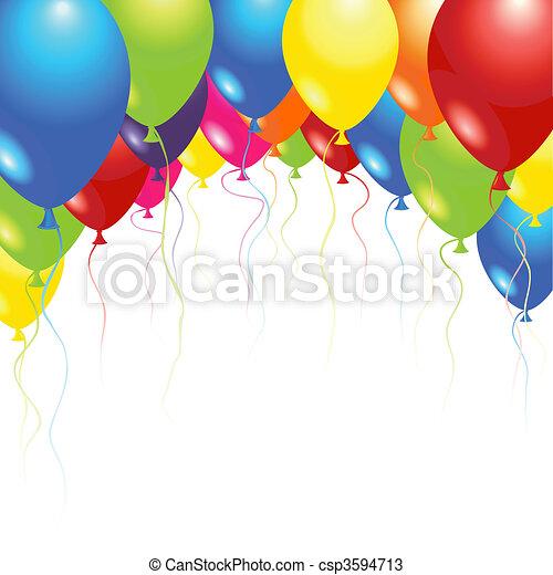 Balloons - csp3594713