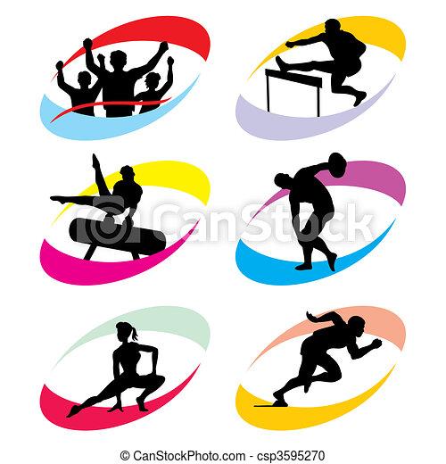 sport icons - csp3595270