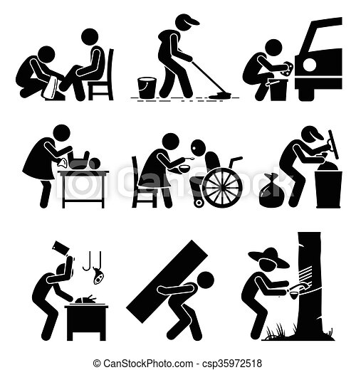 - Vector set stick figure pictogram... csp35972518 - Search Clipart ...