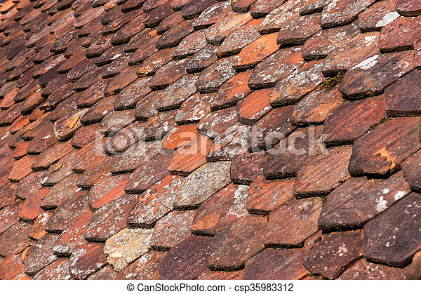 Stock Photography Of Old Roof Shingles Background Old Roof Shingles