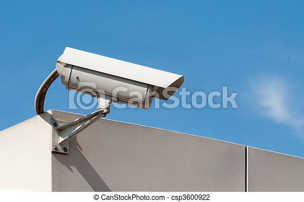 surveillance camera - csp3600922