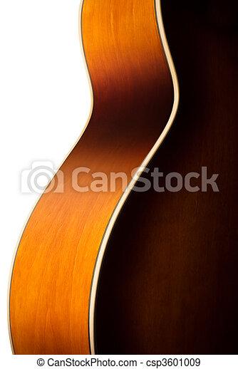 acoustic guitar body detail - csp3601009