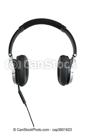 headphones oon white - csp3601623