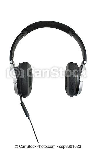 headphones oon white - csp3601623