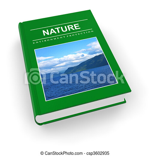 Ecological textbook  - csp3602935